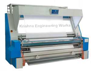 Fabric Re Rolling Machine